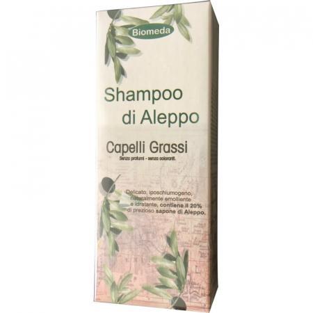 Shampoo di Aleppo per capelli grassi