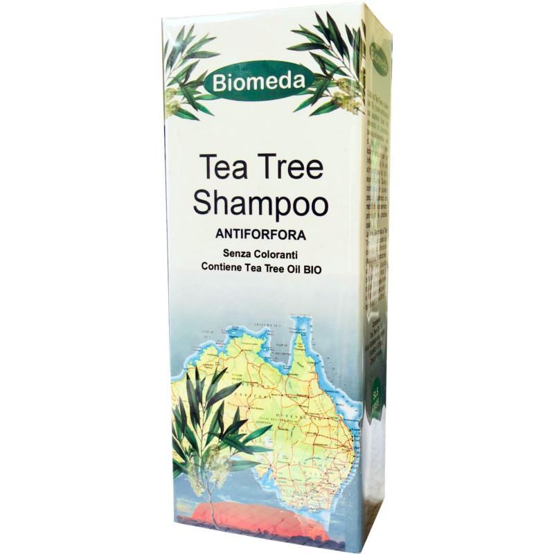 Shampoo antiforfora con Tea Tree oil biologico