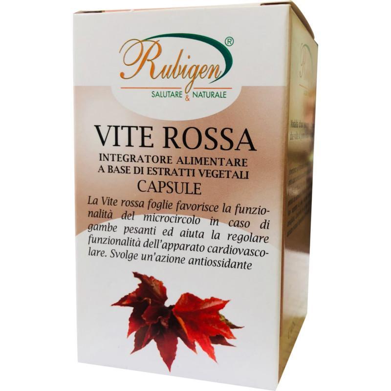 Vite Rossa in capsule vegetali