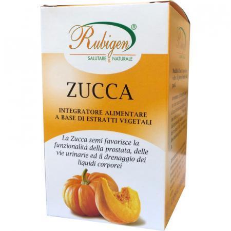 Zucca semi in capsule vegetali per prostata e vie urinarie