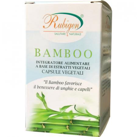 Bamboo capsule per il benessere di unghie e capelli