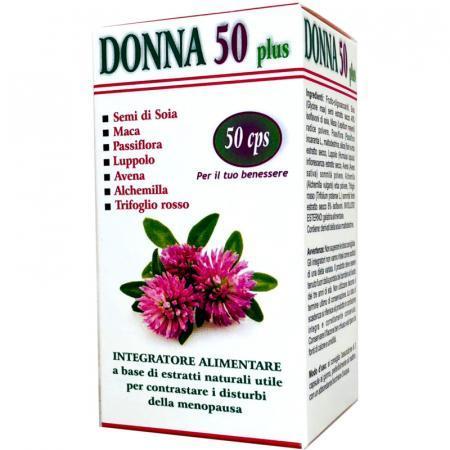 Donna 50 plus, integratore alimentare per contrastare la menopausa