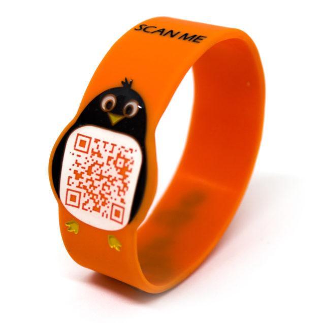 Braccialetto identificativo per bambini Pin-go