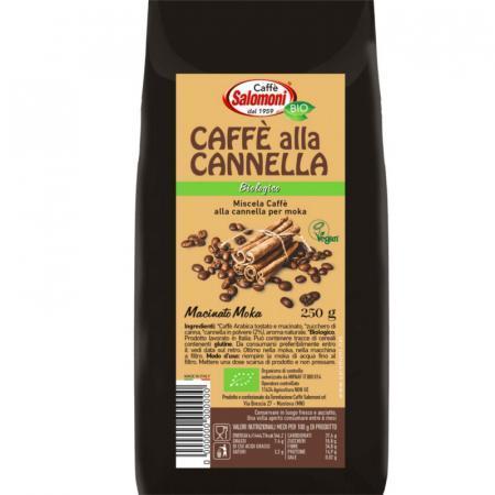 caffè alla cannella biologico miscela per Moka