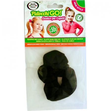 Pidocchi Go elastico per capelli nero