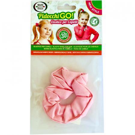 Pidocchi Go elastico per capelli rosa