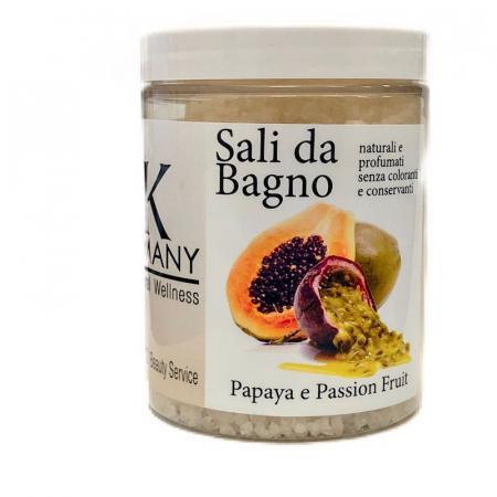 Sali da bagno Papaya e passion fruit