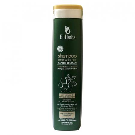Shampoo dopo colore per capelli colorati