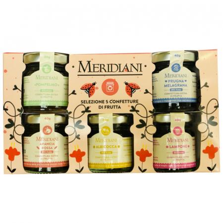 Confetture di frutta Meridiani regalo