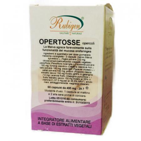 opertosse opercoli con malva per la tosse