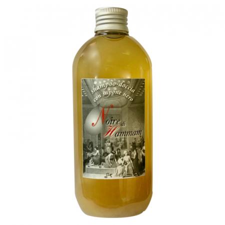Shampoo doccia con sapone nero di Hammam