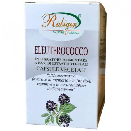 Eleuterococco in capsule vegetali rubigen