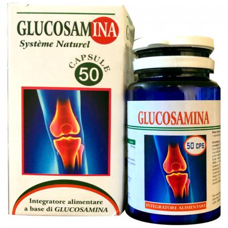 glucosamina in capsule per il benessere delle articolazioni
