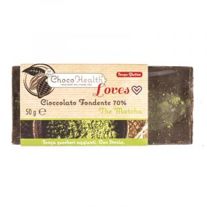 Cioccolato Fondente 70% con The Matcha