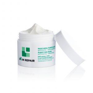 Skin Repair maschera purificante con miele di Ulmo