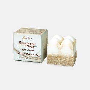 Spugna con Sapone Bio - Cocco e Cioccolato
