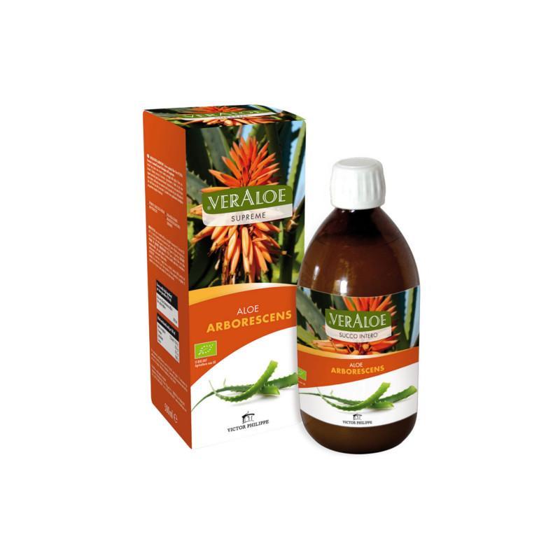 VerAloe Supreme Aloe Arborescens Biologica Succo e Polpa