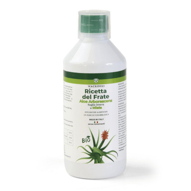 Aloe Arborescens Biologica Ricetta del Frate