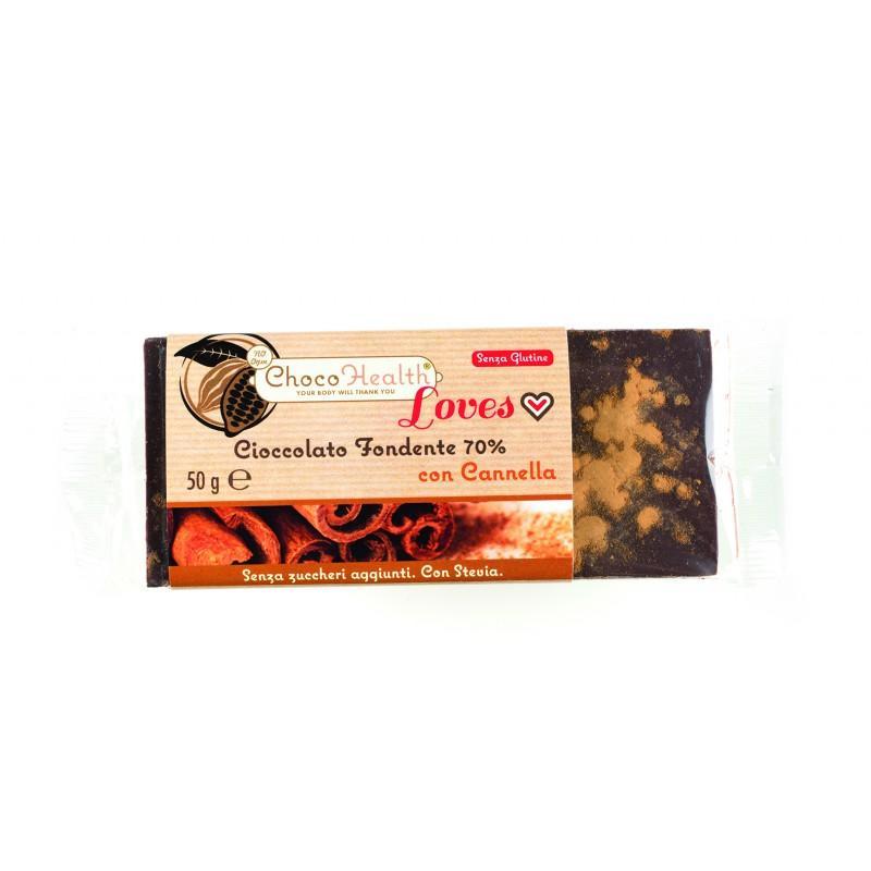 Cioccolato Fondente 70% con Cannella