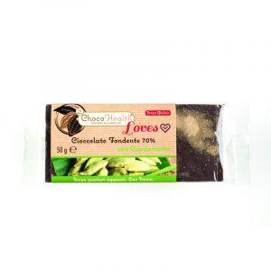 Cioccolato Fondente 70% con Cardamomo