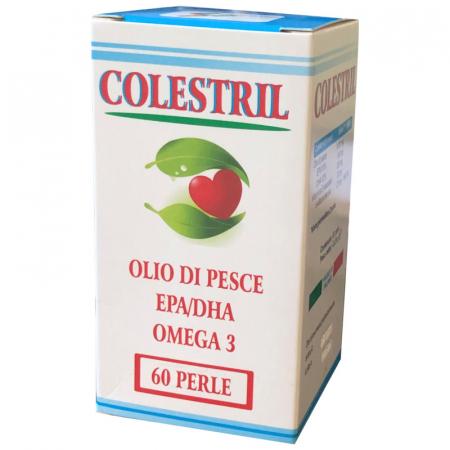 colestril con olio di pesce ricco di omega 3