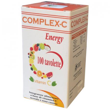 complex-c con vitamina C da acerola e rosa canina