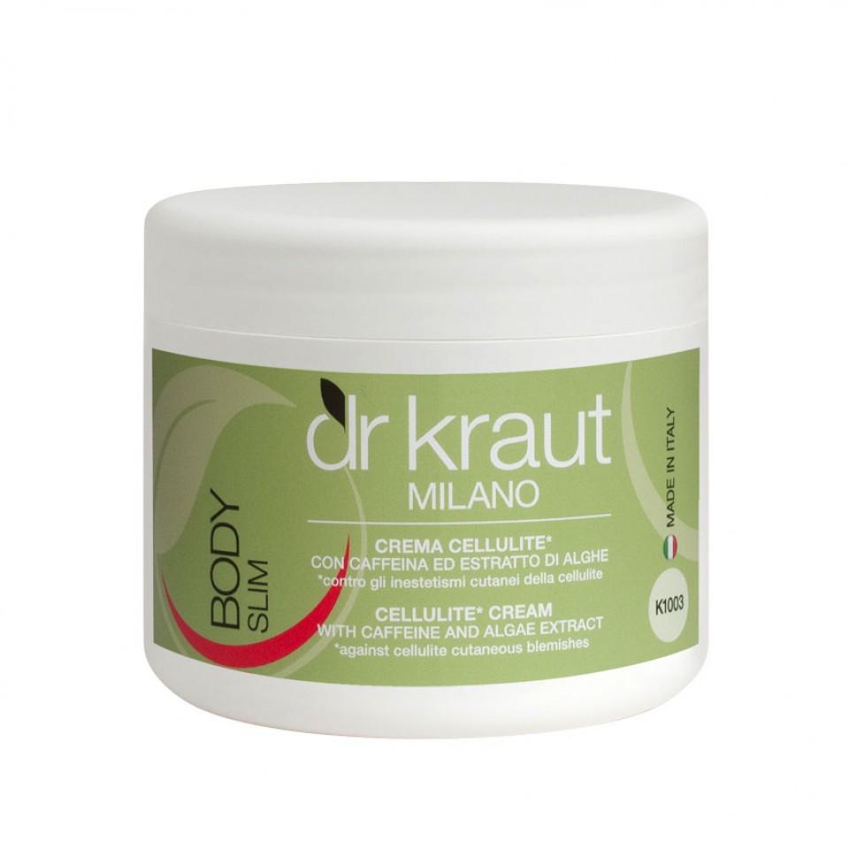 Crema cellulite con caffeina e alghe Dr. Kraut Milano