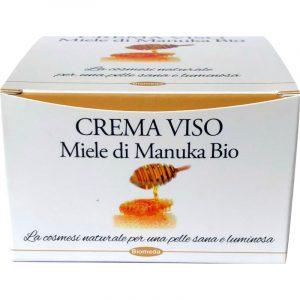 Crema Viso Idratante con Miele di Manuka Bio