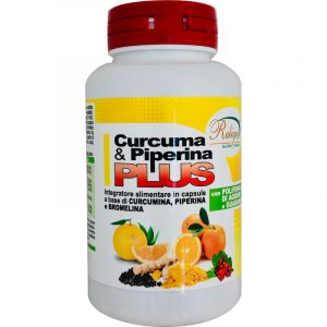 Curcuma Piperina Plus con Bromelina