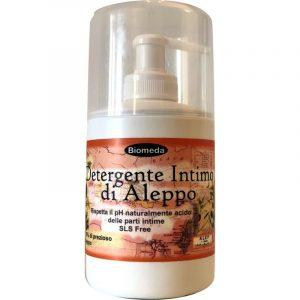 Detergente intimo con sapone di Aleppo