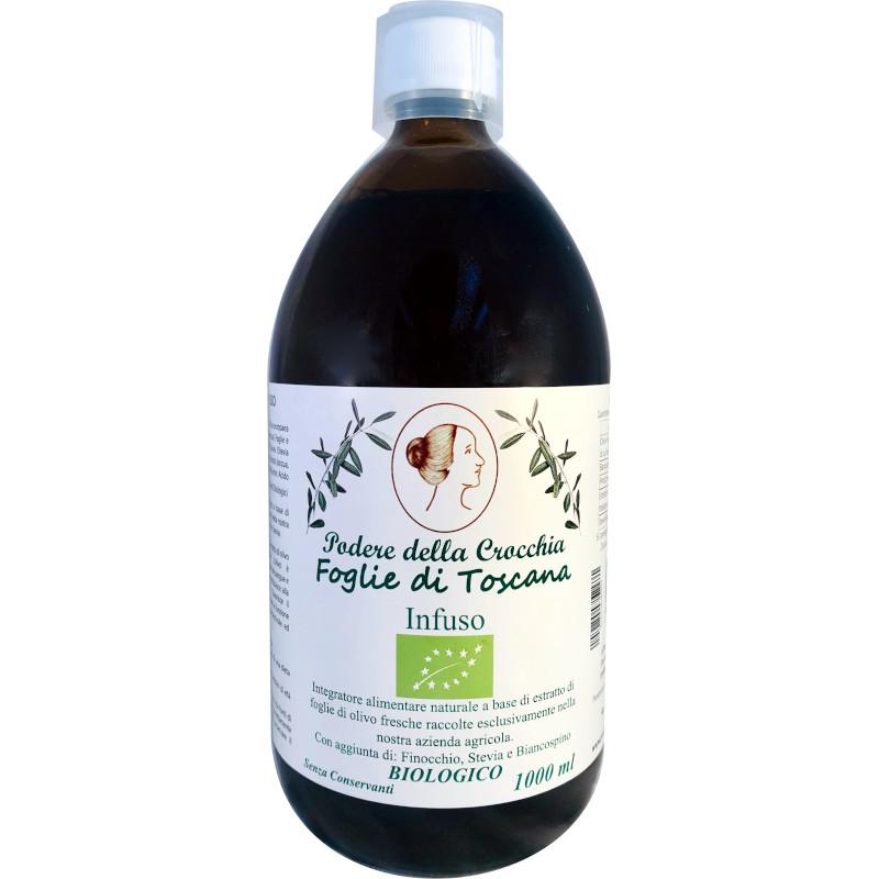 Foglie di Toscana infuso con foglie di Ulivo biologico