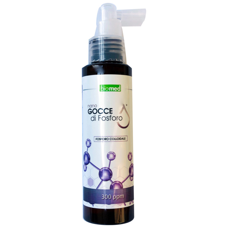 Fosforo Colloidale 300 ppm Biomed