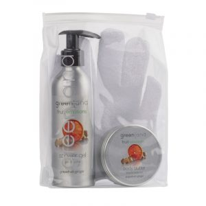 Gift Set Scrub Glove Grapefruit-Ginger Greenland