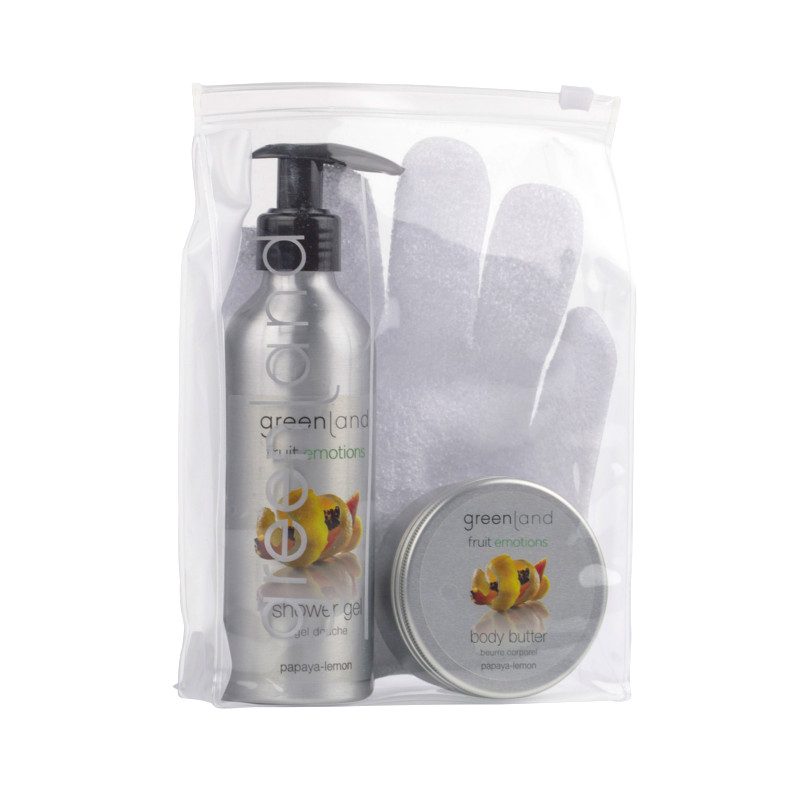 Gift Set Scrub Glove Papaya-Lemon Greenland