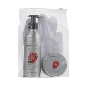 Gift Set Scrub Glove Strawberry-Anise Greenland
