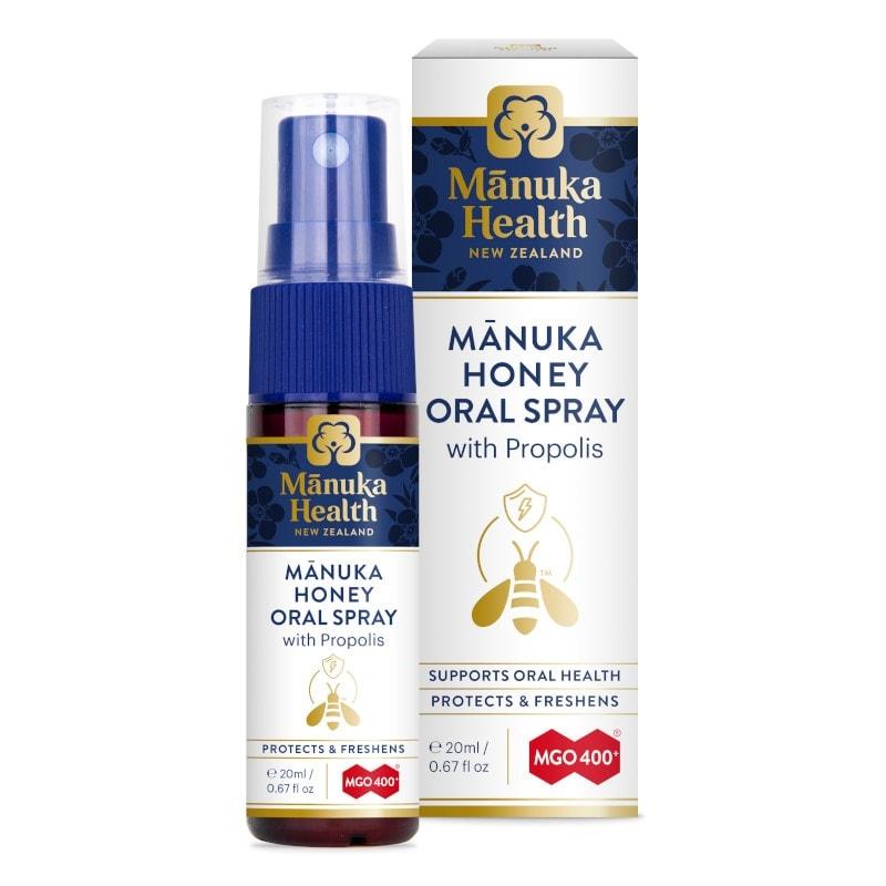 Spray Gola Miele di Manuka e Propoli Manuka Health