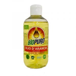 olio d'arancia biologico pulitore universale