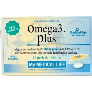 Omega 3 Plus con olio di pesce