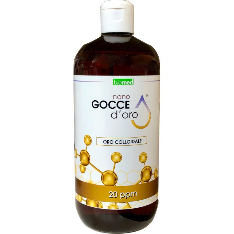 Oro Colloidale Biomed da 500 ml 20 ppm