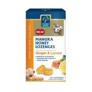 Caramelle Miele di Manuka, Zenzero e Limone