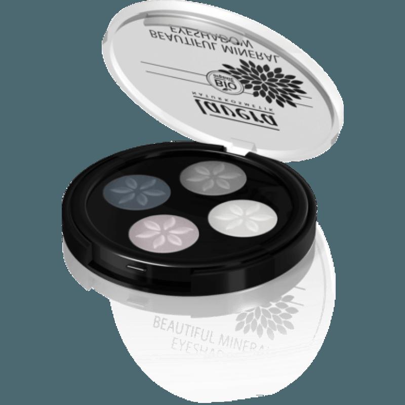 Quattro Ombretti 01 Smokey Grey Lavera