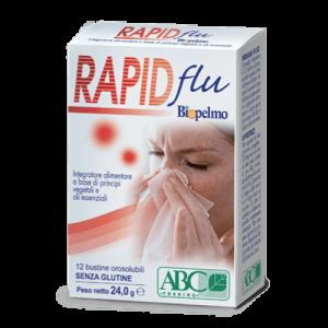 Biopelmo Rapid Flu integratore alimentare