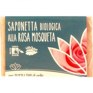 Saponetta Biologica alla Rosa Mosqueta