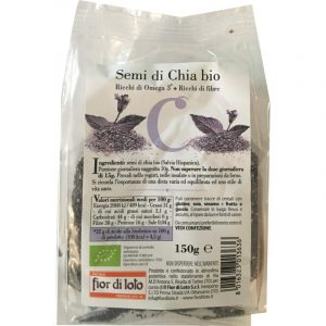 Semi di Chia Biologici 150 gr
