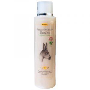 Shampoo Ristrutturante al Latte d'Asina Biologico