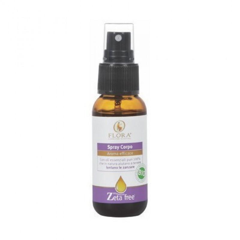 Spray Corpo Antizanzare Zeta Free Bio 30 ml