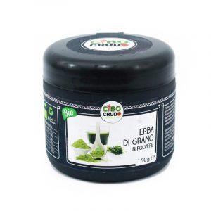 Erba di grano in polvere bio by Cibo Crudo