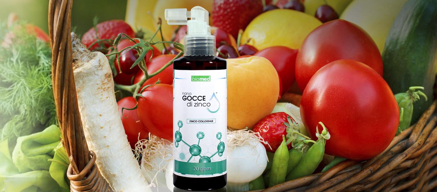 zinco colloidale antiossidante