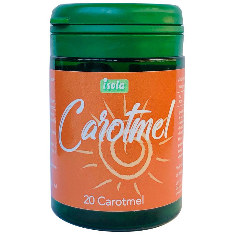 carotmel caramelle con la dose giornaliera di beta carotene
