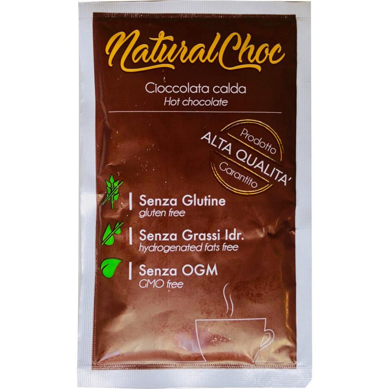 preparato per cioccolata con proteine della Canapa